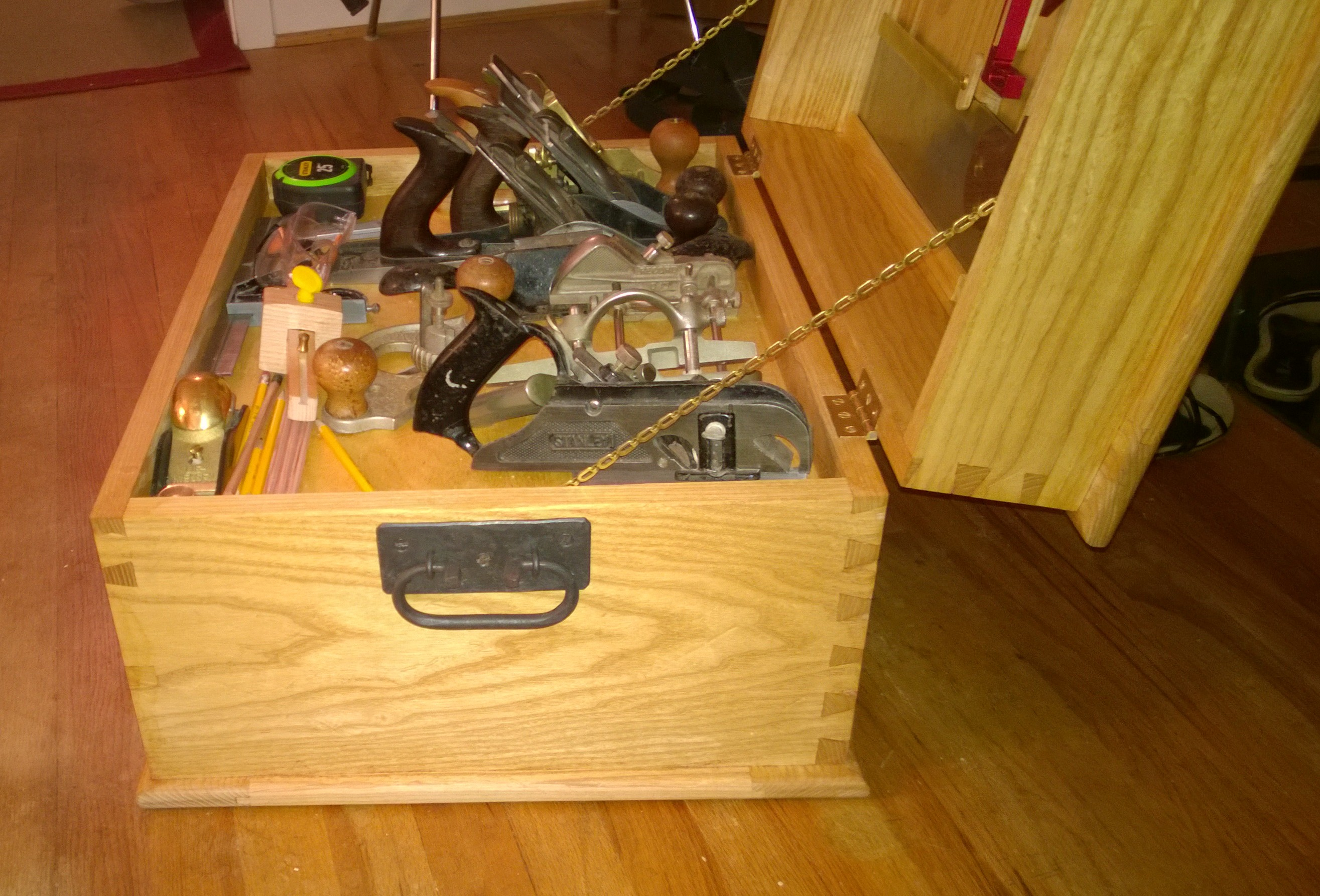 paul sellers tool chest | mike of all things